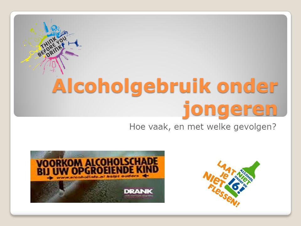 Alcoholgebruik onder jongeren Hoe vaak, en met welke gevolgen?