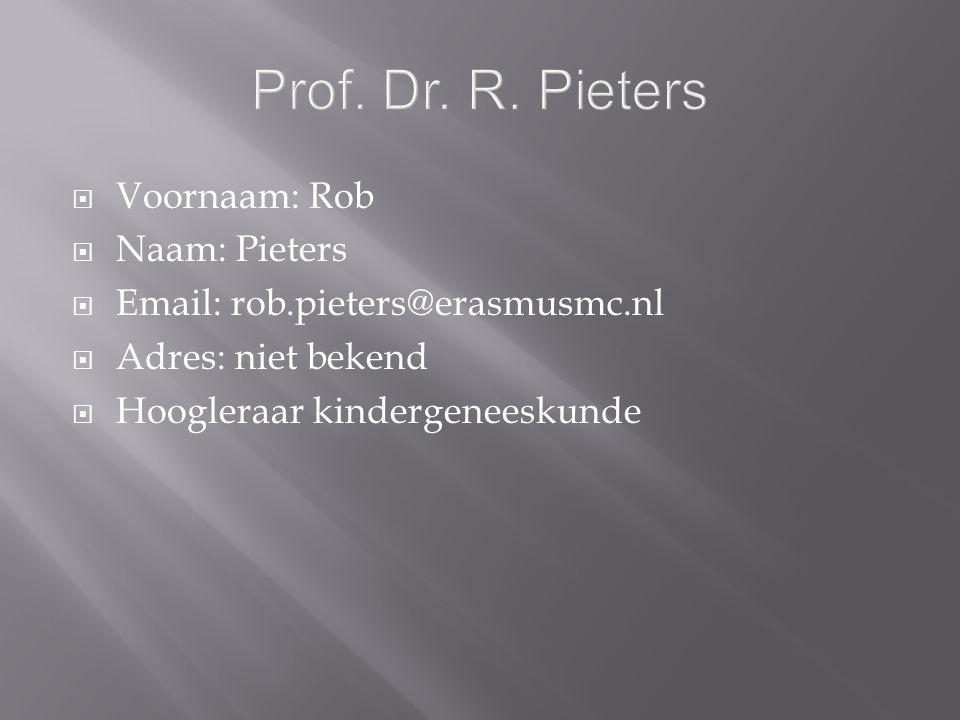 Prof. Dr. R.