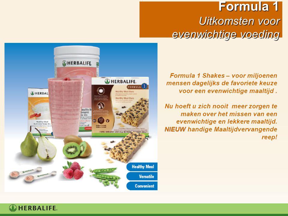 Herbalife Evenwichtige Maaltijden Herbalife levert al 30 jaar evenwichtige maaltijden voor gewichtsbeheersing.