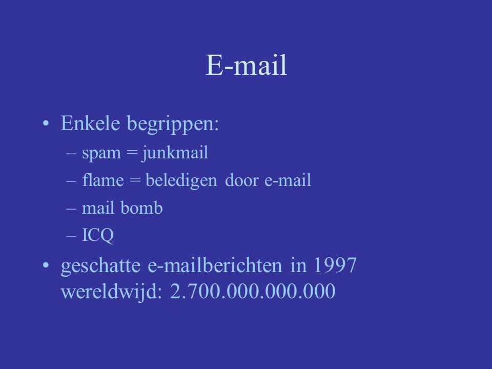 E-mail Enorm populair!!.–Vb.