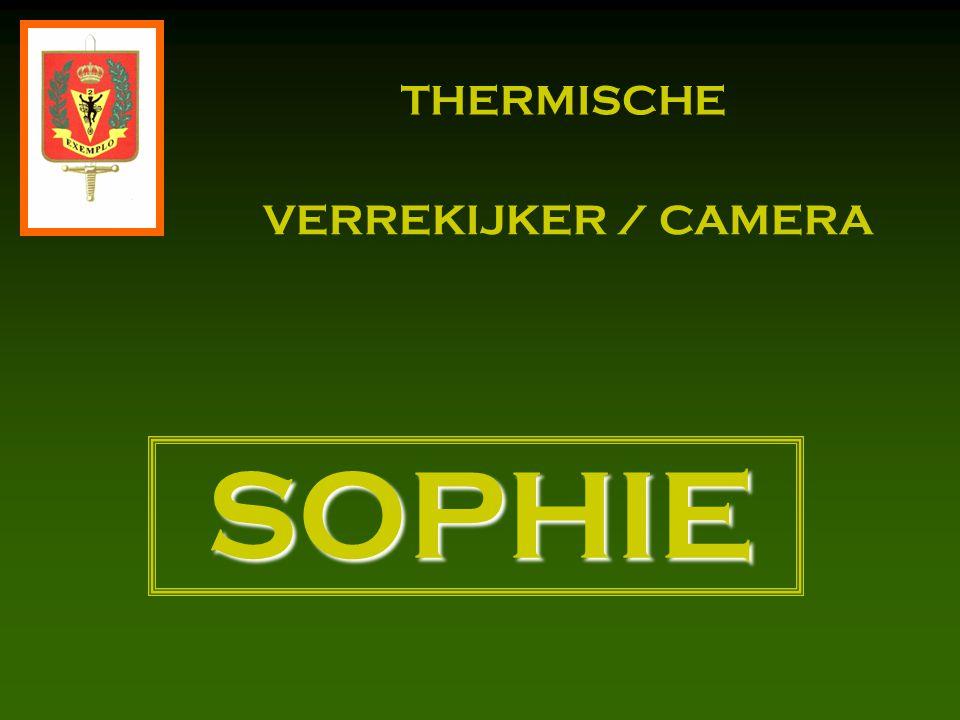  Leveringsomvang 1.Thermische verrekijker / camera SOPHIE 2.