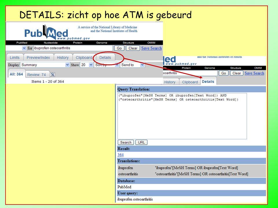 DETAILS: zicht op hoe ATM is gebeurd
