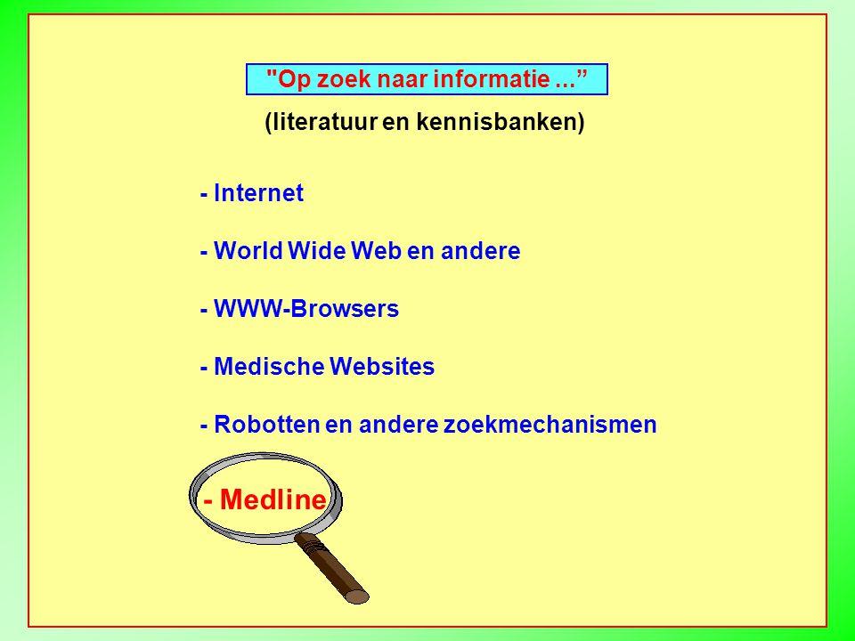 - Indexeren - Opzoeken...zo specifiek mogelijk...