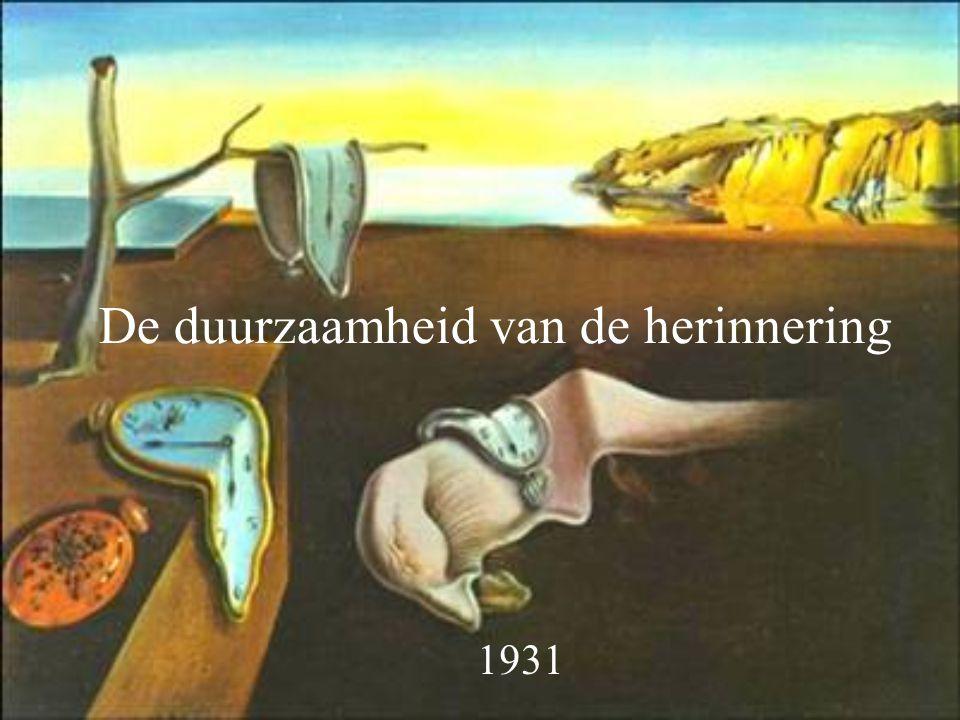 De duurzaamheid van de herinnering 1931