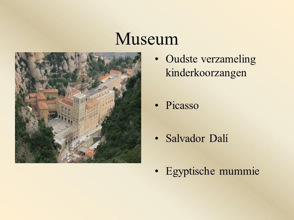 Museum Oudste verzameling kinderkoorzangen Picasso Salvador Dalí Egyptische mummie