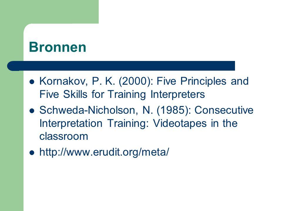 Bronnen Kornakov, P.K.