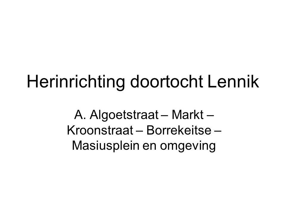 Infovergadering inzake wegenis- en signalisatiewerken in Sint-Kwintens-Lennik