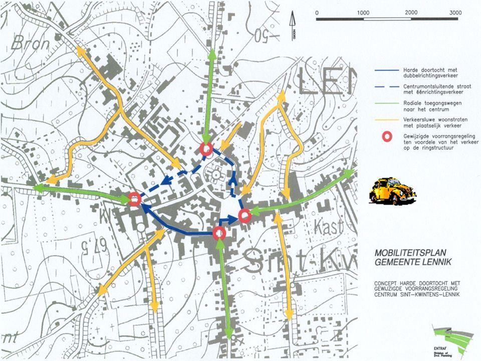 Herinrichting doortocht Lennik A. Algoetstraat – Markt – Kroonstraat – Borrekeitse – Masiusplein en omgeving