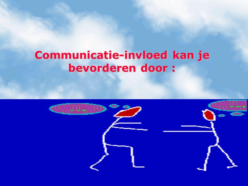 Een (gespreks)interactie in het teken van onlust (vermijden) weten zetten in het teken van voldoening (zoeken).