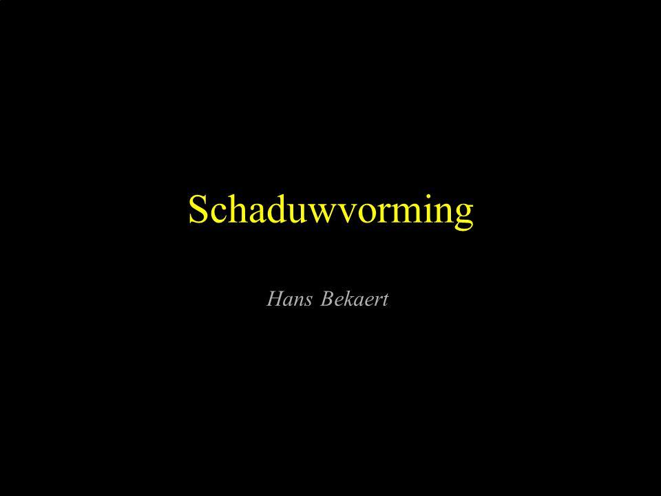 Schaduwvorming Hans Bekaert