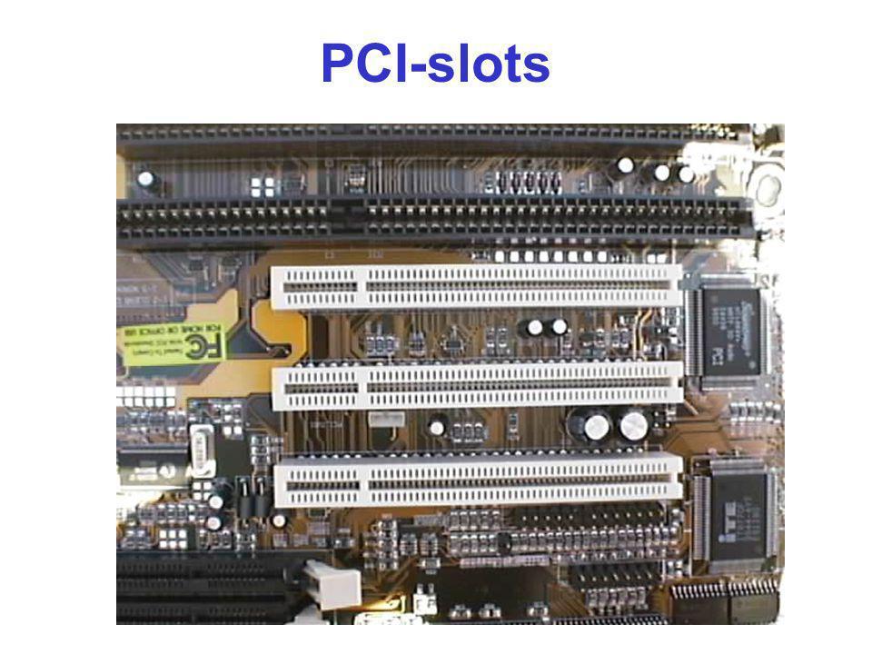 PCI-slots