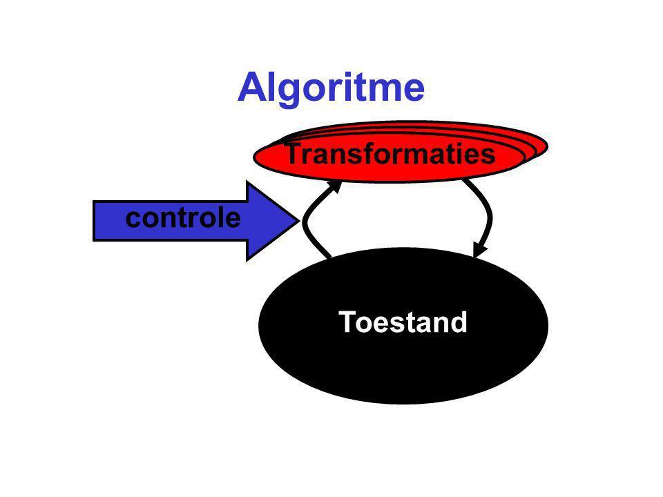 Algoritme Toestand Transformaties controle