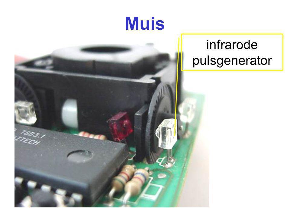 Muis infrarode pulsgenerator