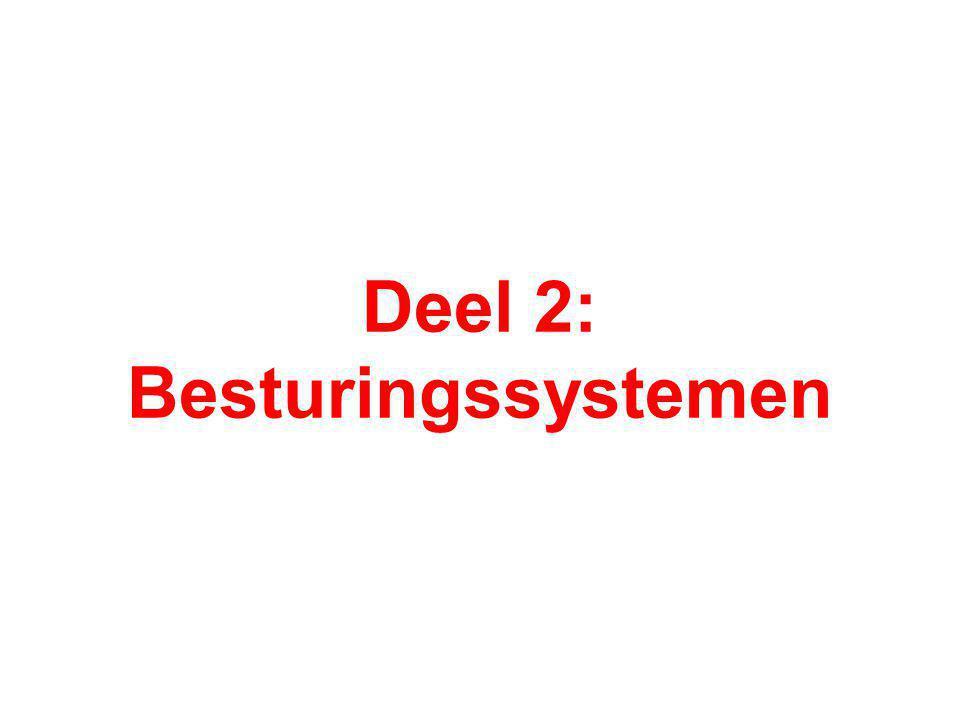 Deel 2: Besturingssystemen