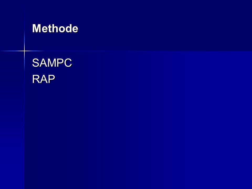 Sampc-systeem revalidatiediagnose S : somatisch S : somatisch A : ADL A : ADL M: het maatschappelijk functioneren M: het maatschappelijk functioneren P : het psychisch functioneren P : het psychisch functioneren C : de communicatie C : de communicatie