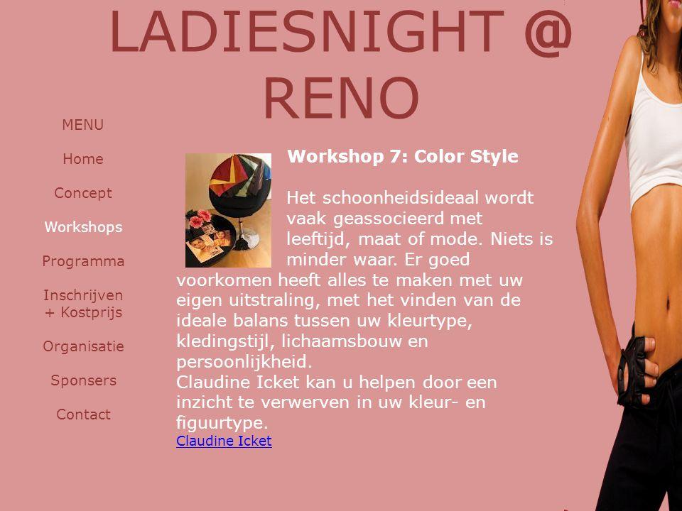 Workshop 7: Color Style Het schoonheidsideaal wordt vaak geassocieerd met leeftijd, maat of mode.