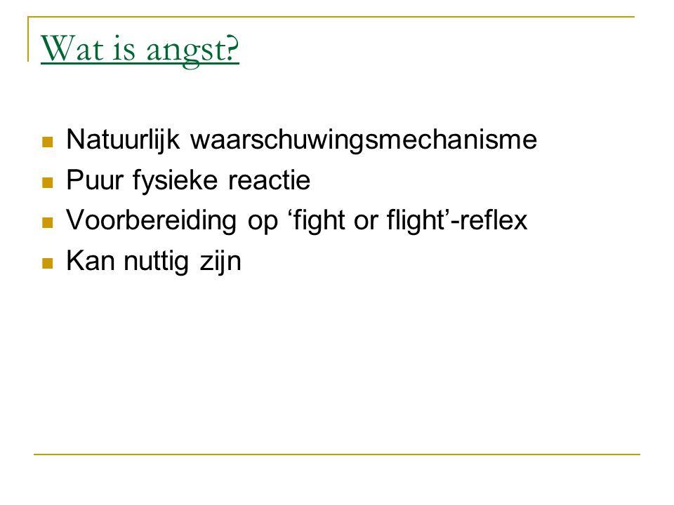 Fight or flight Adrenaline wordt aangemaakt  Hartritme gaat omhoog = betere circulatie van zuurstofrijk bloed naar de spieren.