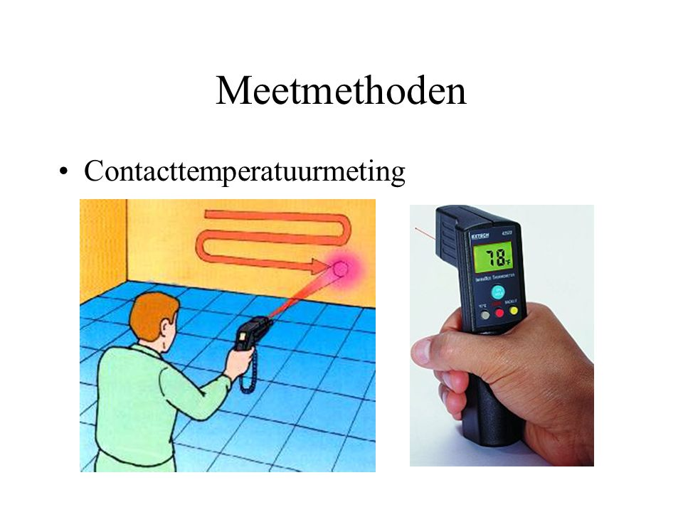 Meetmethoden Contacttemperatuurmeting