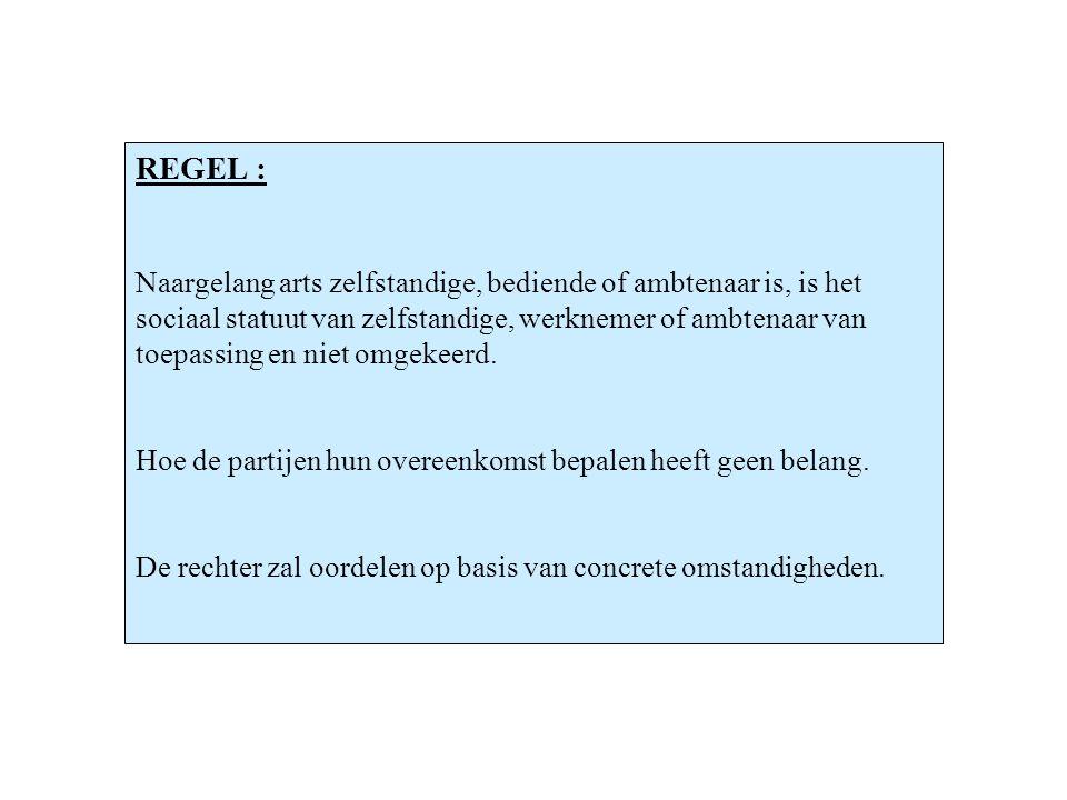 TWEE UITZONDERINGEN artikel 1 § 3 (RSZ-Wet) : Dit artikel stelt nl.