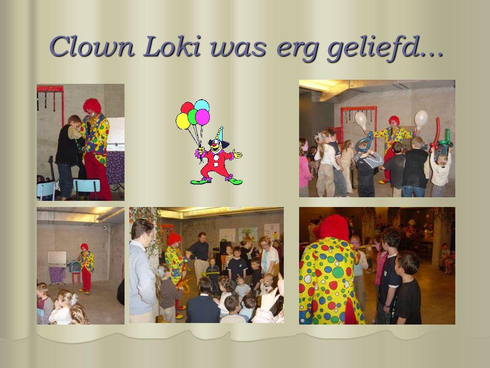 Clown Loki was erg geliefd...