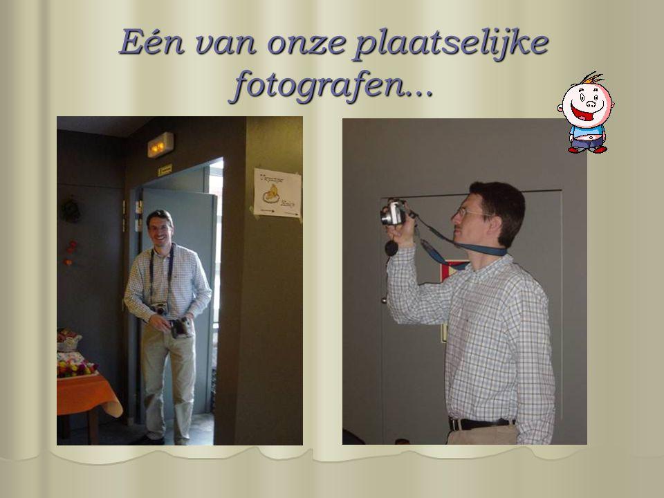 Eén van onze plaatselijke fotografen...
