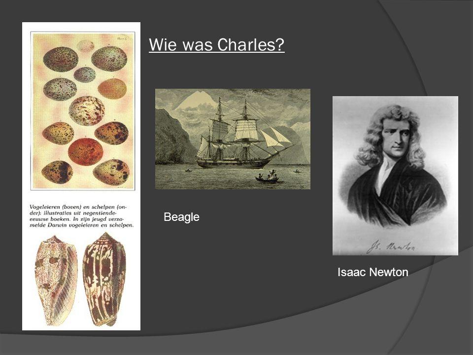 Wie was Charles? Isaac Newton Beagle