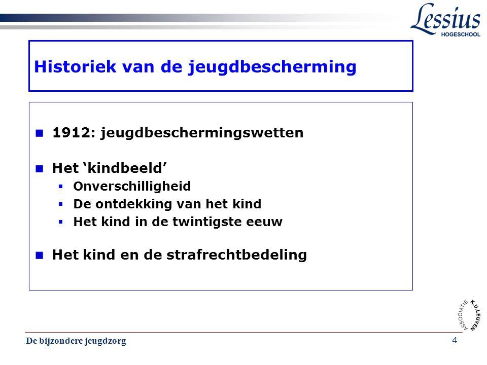 De bijzondere jeugdzorg 35 De consulent van de sociale dienst CBJ De Consulent  Wie is de consulent.