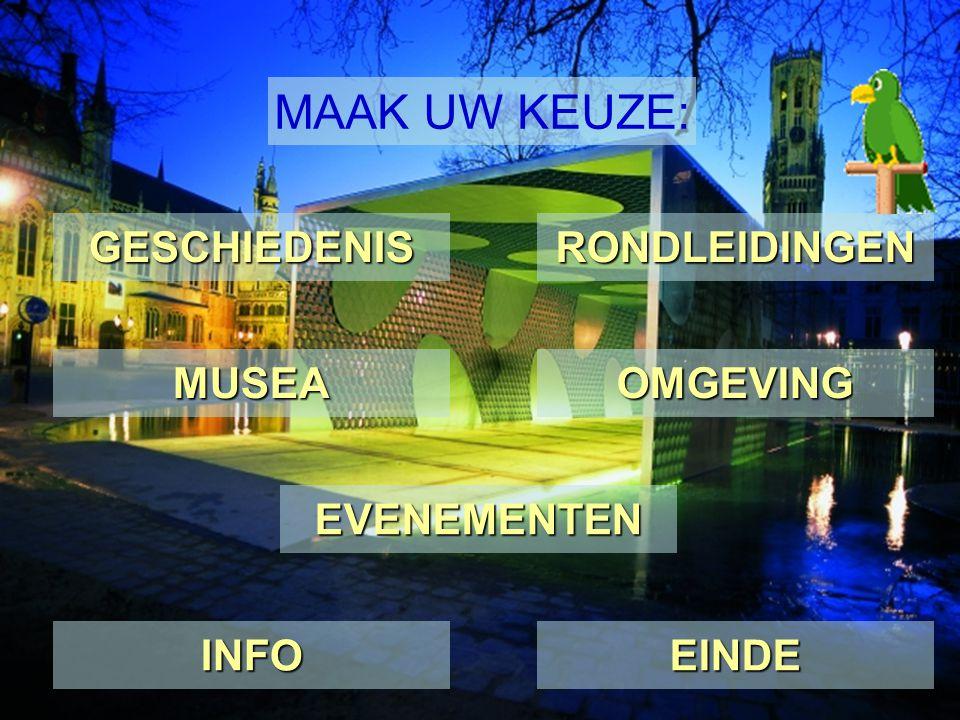 Archeologisch museum In deze huizen gelegen aan de rand van het Sint-Janshospitaaldomein worden materiële getuigen van Brugges verleden, gevonden bij opgravingen, tentoongesteld.