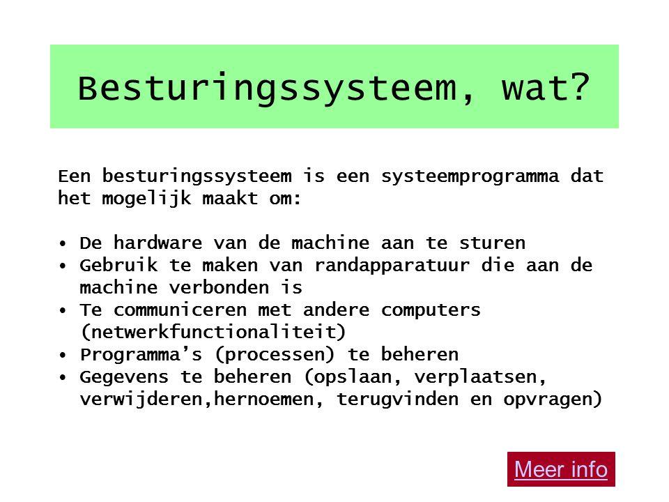 5. Besturingssystemen