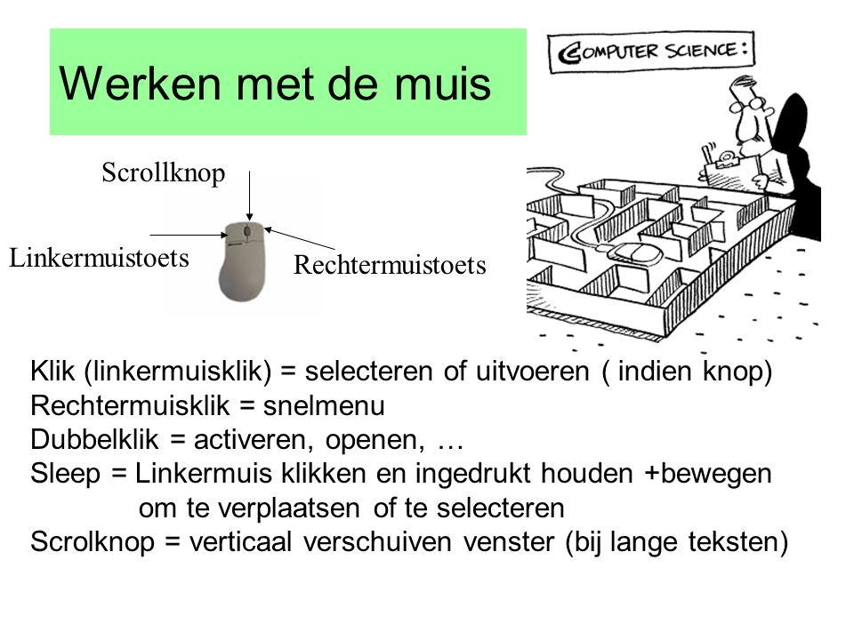Startmenu Startmenu/programma's/bureau accessoires/systeemwerkset/systeeminfo