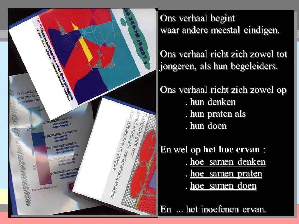 psychcom-research Know-how een stapje vooruit helpen Ruimte 1 Vrijdag 3 maart 2000 12u30 tot 13u30 Oog voor jezelf en de ander .