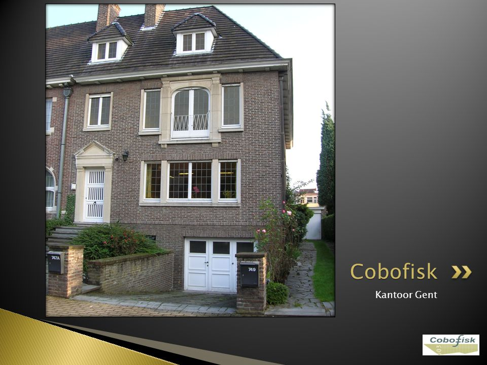 Kantoor Gent Cobofisk
