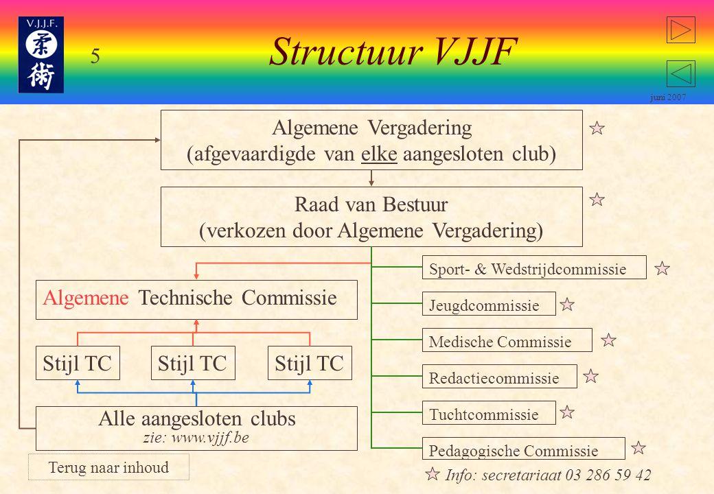 35 juni 2007 Geldig voor stijl Van Haesendonck: Vrouwen mogen kiezen: punten behalen op randori afstand of toets.