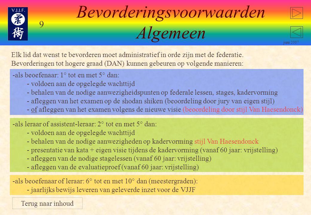 39 juni 2007 De Vlaamse Trainersschool VTS De Vlaamse Trainersschool is verantwoordelijk voor de organisatie van de verschillende opleidingsniveau's voor begeleiders en trainers in Vlaanderen.