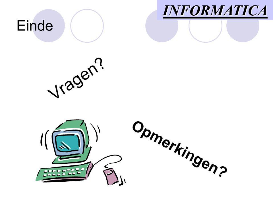 De modem (2) Toepassingen  Bestanden versturen  Elektronische post  Fax  Internet ... Randapparatuur
