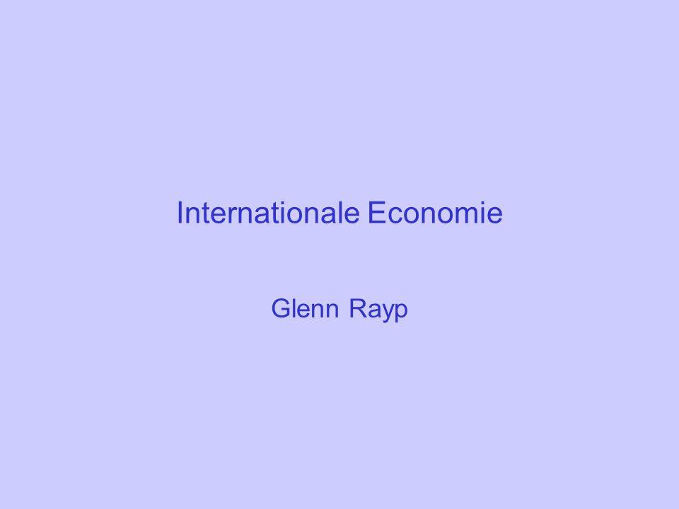 Internationale Economie Glenn Rayp