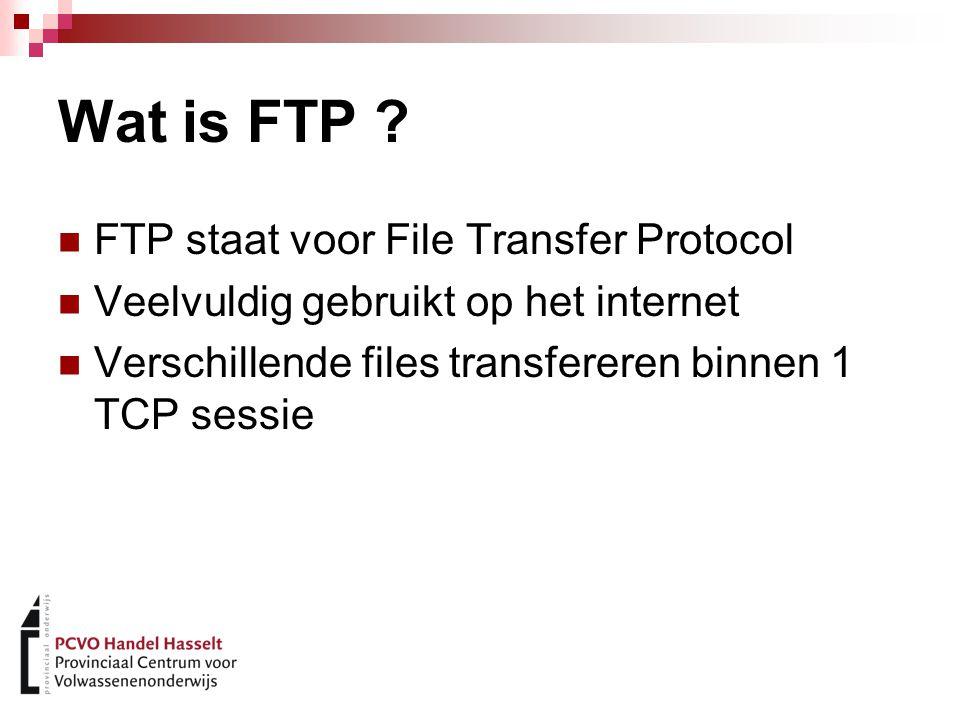 FTP Clients Filezilla CuteFTP FTP commandline Etc...