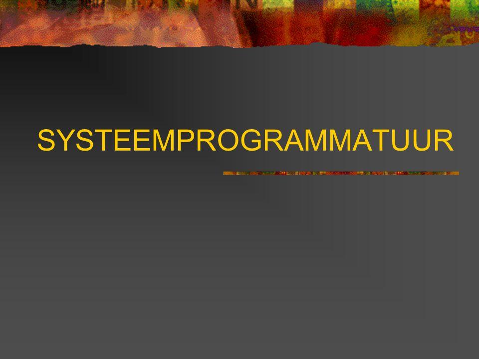 SYSTEEMPROGRAMMATUUR
