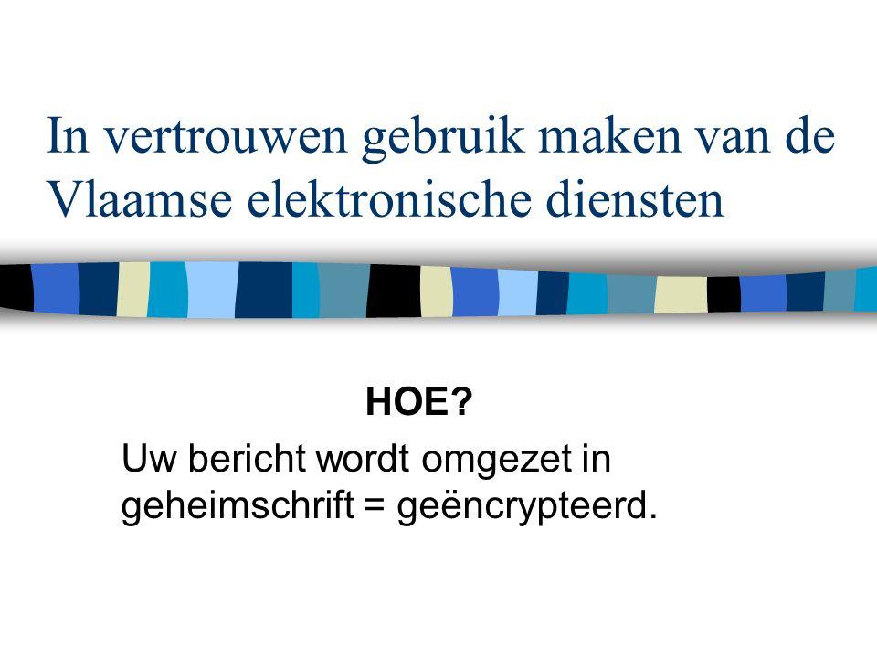 E-government Dian Verbruggen18 De UME zorgt ervoor dat berichten: n Als ze nog niet verwerkt kunnen worden, in een wachtrij komen te staan tot het andere systeem klaar is om ze te verwerken.