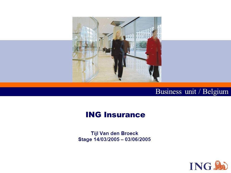 Business unit / Belgium 2 Inleiding Situering Waarom mainframes .