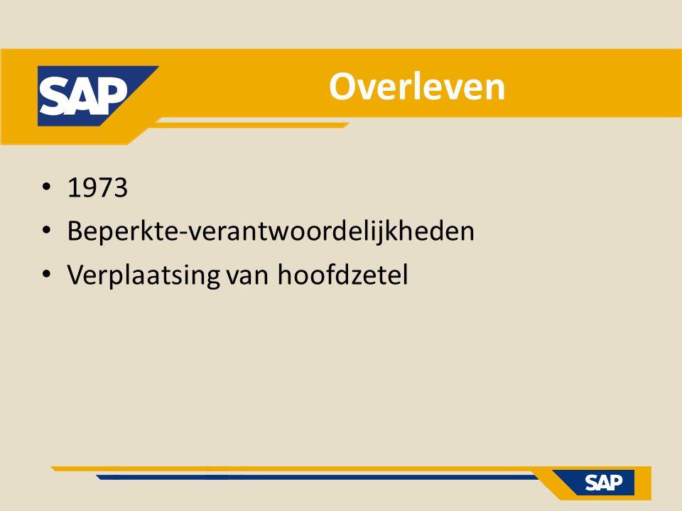 Overleven 1973 Beperkte-verantwoordelijkheden Verplaatsing van hoofdzetel