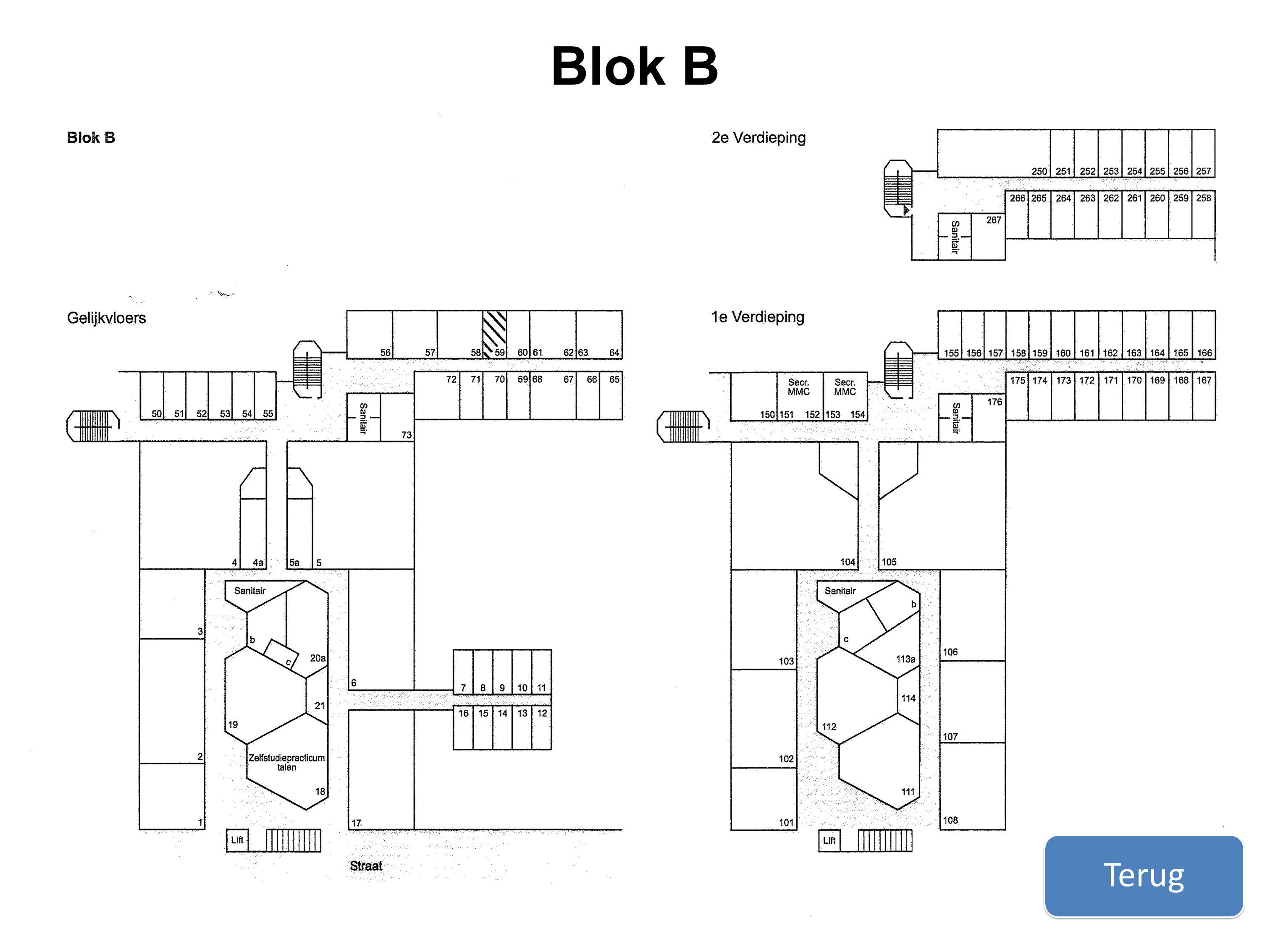Terug Blok B