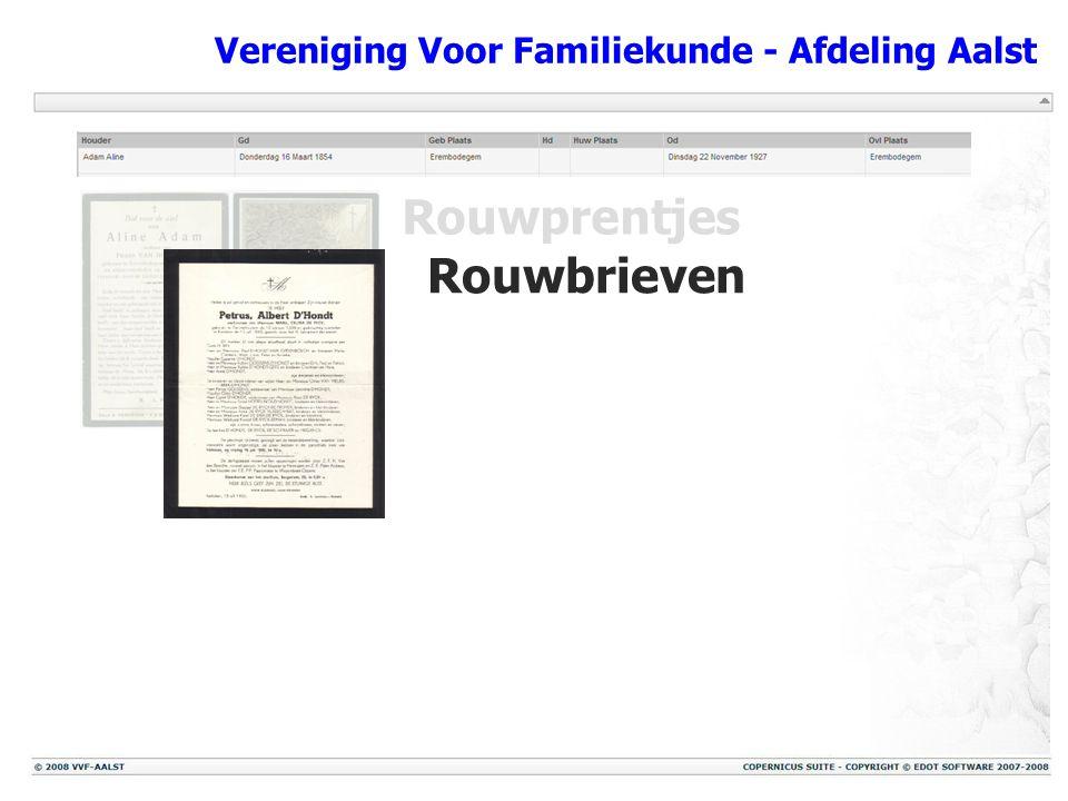 Vereniging Voor Familiekunde - Afdeling Aalst The End Het bestuur van VVF – Aalst dankt U voor Uw interesse!