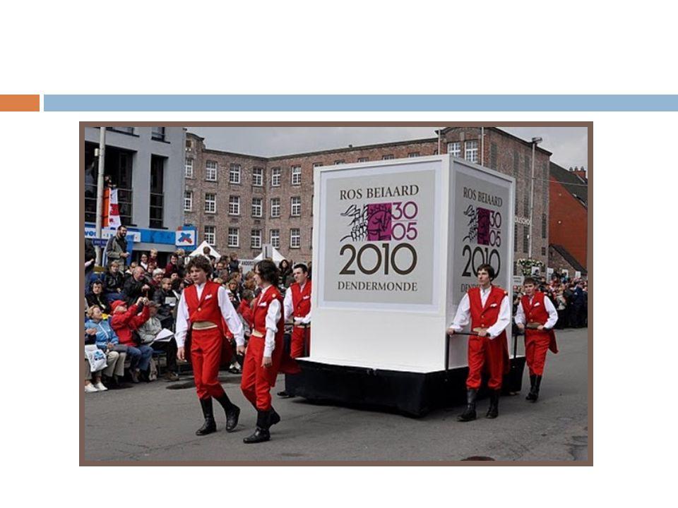ROS BEIAARD OMMEGANG DENDERMONDE 30 MEI 2010