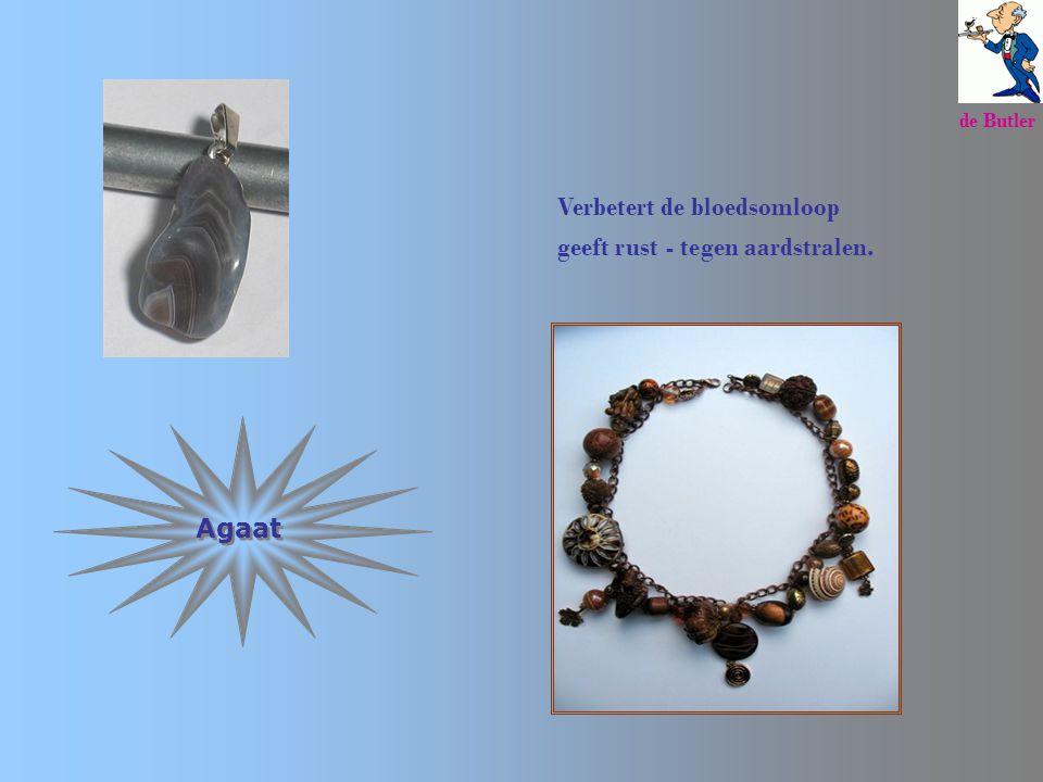 Amethyst Beste steen tegen spanningen, migraine, slapeloosheid, verslavingen. de Butler