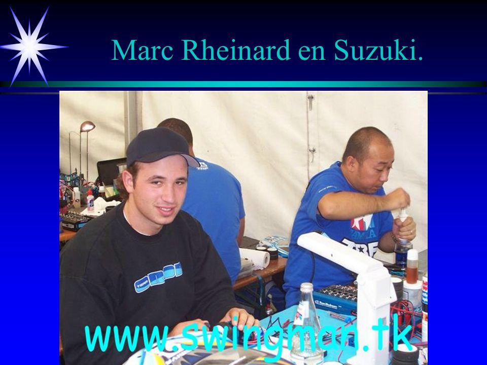 Marc Rheinard en Suzuki.