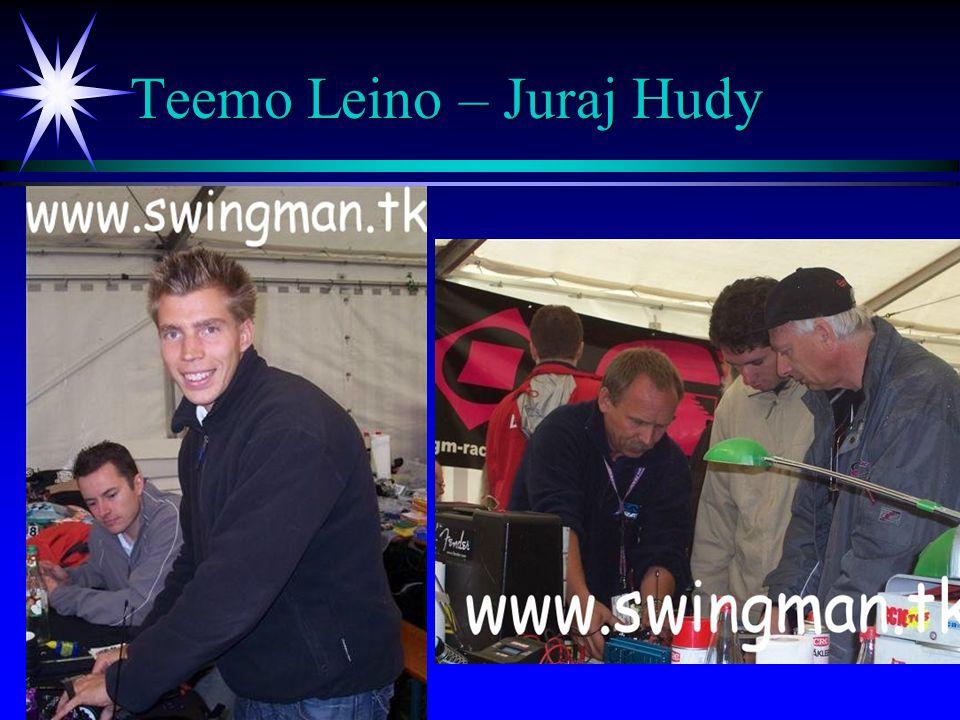 Teemo Leino – Juraj Hudy