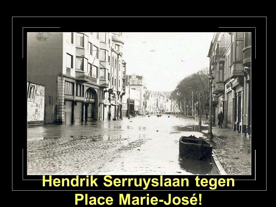 H. Serruyslaan kant Joseph 2 straat.