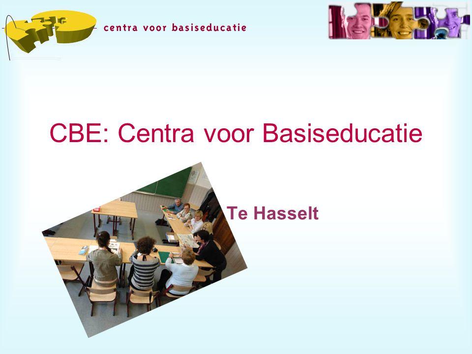 CBE: Centra voor Basiseducatie Einde