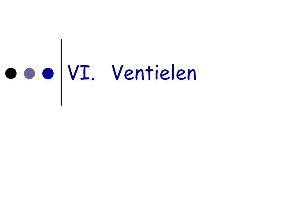 A. ventielen als schakelaar VI.Ventielen